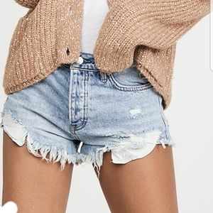 SALE💥NWT 💙 Free People Jean Shorts